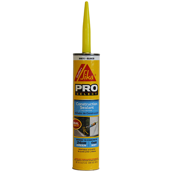 Construction Sealant SikaFlex+ White 10oz