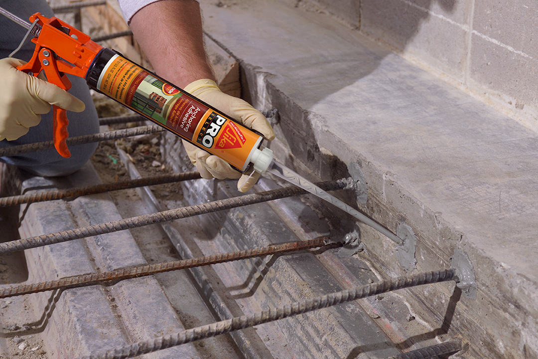Sika Anchor Fix 1 Application