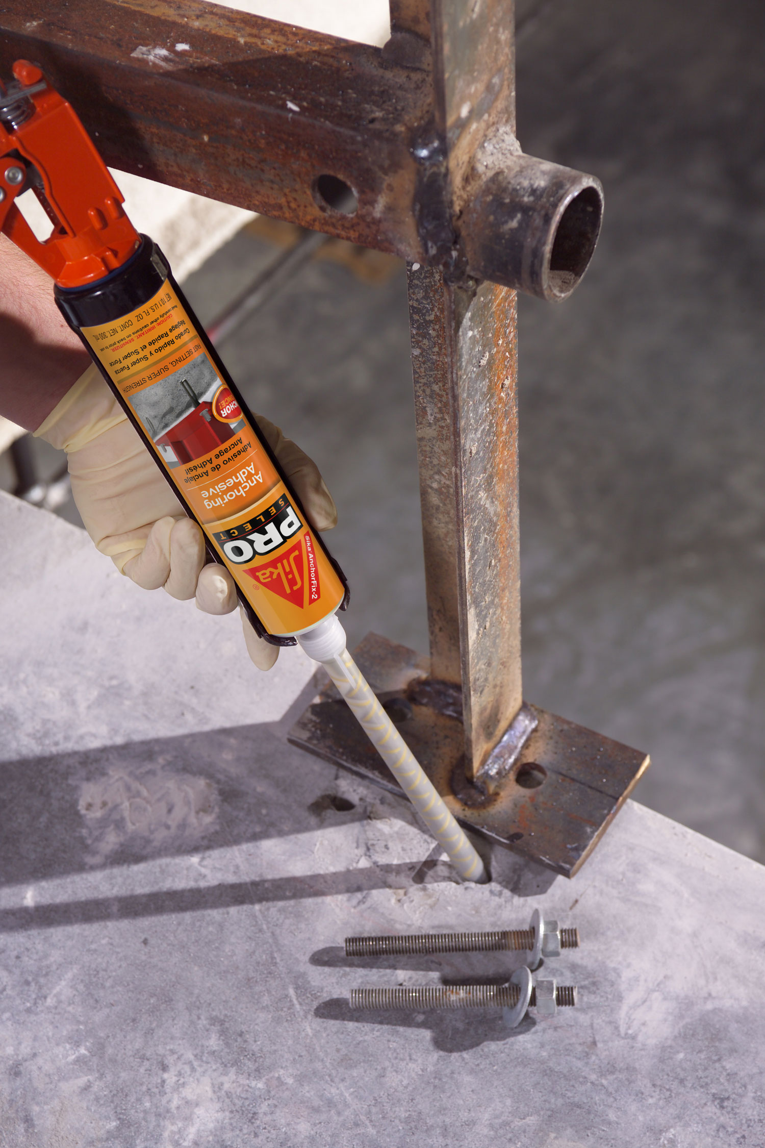 Sika AnchorFix 2 - Application