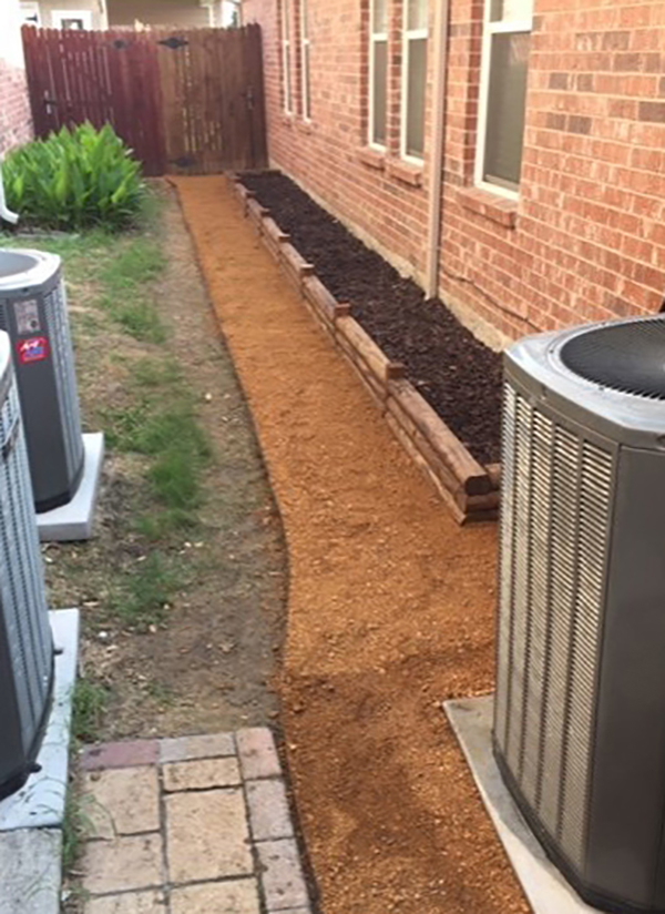 Landscape Timber Retaining Wall