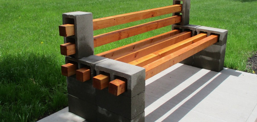 Swell Diy Concrete Block Bench Sika Spiritservingveterans Wood Chair Design Ideas Spiritservingveteransorg
