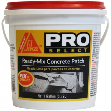 Ready-Mix Concrete Patch Sikacryl 1Gal