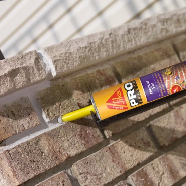 Sikaflex Mortar Fix Sealant - Application