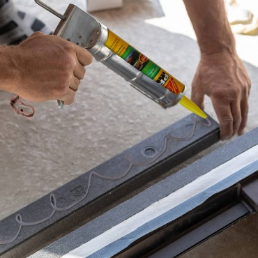 SikaBond Construction Adhesive Application