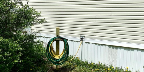 Beauty-Sika-PostFix-DIY-Garden-Hose-Holder-